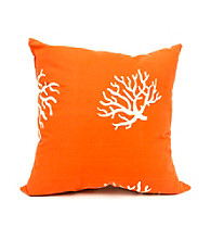 Majestic Home Goods Coral Large Pillow