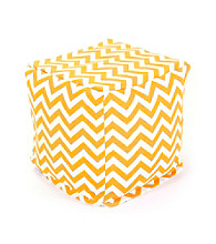 Majestic Home Goods Zig Zag Small Cube