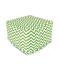 Majestic Home Goods Zig Zag Large Ottoman