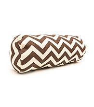 Majestic Home Goods Zig Zag Round Bolster Pillow