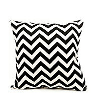 Majestic Home Goods Zig Zag Large Pillow