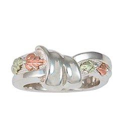 Black Hills Gold Sterling Silver Ring