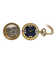 Black Hills Gold Men's Pocketwatch with Black Hills Gold Accents