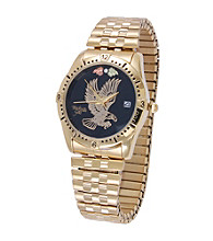 Black Hills Gold Men's Eagle Watch with Black Hills Gold Accents