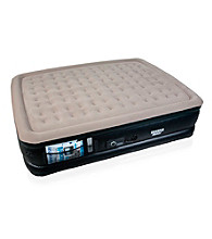 The Sharper Image® Raised Queen Air Bed with Built-In Sheet Clips