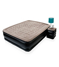The Sharper Image® Deluxe Queen Air Bed with Built-In Side Table
