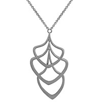 Sterling Silver Rhodium Necklace