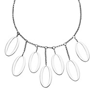 Rhodium Sterling Sterling Silver Necklace
