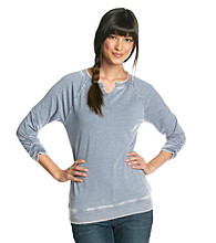 Ruff Hewn Washed Splitneck Sweatshirt