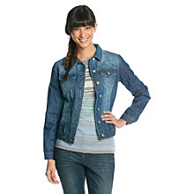 Ruff Hewn Long Sleeve Denim Jacket