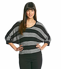 AGB® Wide Stripe Sweater