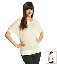 AGB® Dolman Shine Sweater