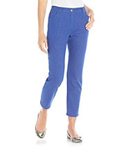Ruby Rd.® Colored Denim Ankle Pant