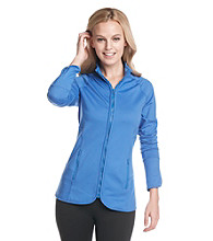 Exertek® Pieced Mockneck Performance Vent Jacket