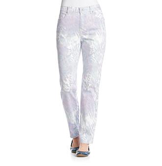 Gloria Vanderbilt® Copperhead Print Amanda Denim Jeans