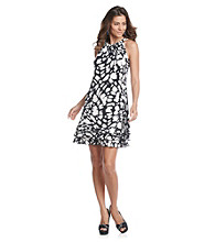 MSK® Tiered Cocktail Dress