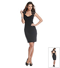 Xscape Short Cocktail Dress with Lace