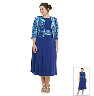 plus size clothes blue