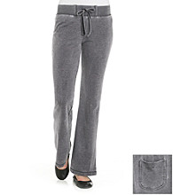Halcyon Drawstring Mineral Washed Knit Pant