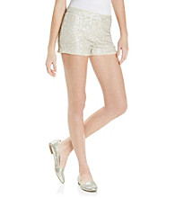 XOXO® Juniors' All Over Sequin Short