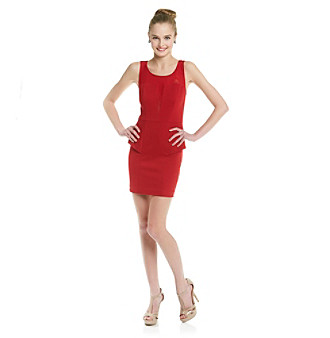 Guess Shandra Peplum Dress