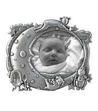 Malden Silver 3x5 Cow Jumps Over The Moon Frame
