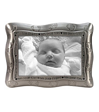 Malden Silver 4x6 Ten Little Fingers, Ten Little Toes Frame