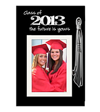 Malden Black 5x7 Matted Grad Frame with Tassel Holder