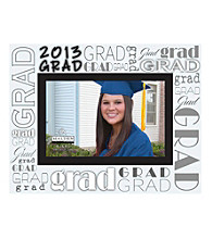 Malden 4x6 2013 Grad Frosted Glass Frame