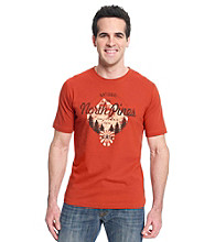 Ruff Hewn Men's Trail Orange Short Sleeve