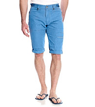 Calvin Klein Jeans® Men's Egyptian Glazed Blue Canvas Short