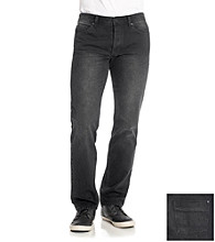 Calvin Klein Jeans® Men's Abraded Black Rocker Jean