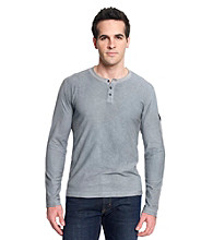 Calvin Klein Jeans® Men's Long Sleeve Cold Pigment Tribal Henley