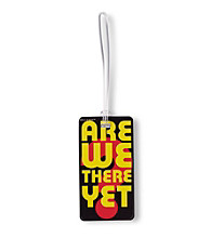 Belle Hop® Are We There Fashion Luggage Tag