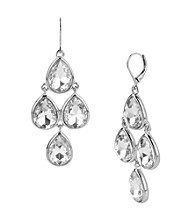 Kenneth Cole® Crystal Teardrop Chandelier Earrings