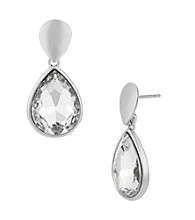 Kenneth Cole® Crystal Teardrop Earrings