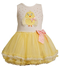 Bonnie Jean® Baby Girls' Yellow Chicken Tutu Dress