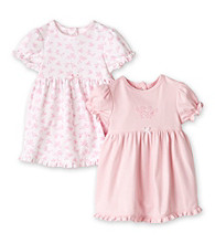 Little Me® Baby Girls' Pink 2-pk. Ruffle Dress Set