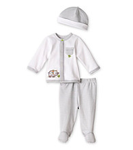 Little Me® Baby Boys' Grey 3-pc. Elephant Take-Me-Home Set