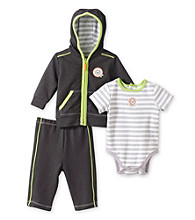 Little Me® Baby Boys' Grey 3-pc. Lion Take-Me-Home Set