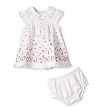 Little Me® Baby Girls' White Floral Dress