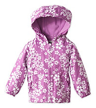 London Fog® Baby Girls' Purple Floral Jacket