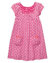 Carter's® Girls' 2T-6X Pink Floral Print Knit Dress