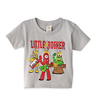 Nickelodeon® Boys' 2T-4T Grey Short Sleeve Yo Gabba Gabba Rocker Tee