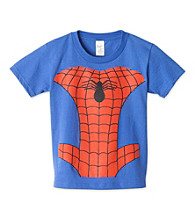 Spider-Man® Boys' 4-7 Royal Blue Short Sleeve Headless Spidy Tee