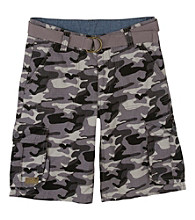 Levi's® Boys' 2T-20 Grey Camo Ripstop Shorts