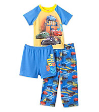 Cars Boys' 2T-4T Blue 3-pc.