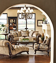 HM Richards Vanity Taupe Living Room Collection