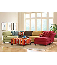 HM Richards Suede-So-Soft Modular Sectional Furniture Collection