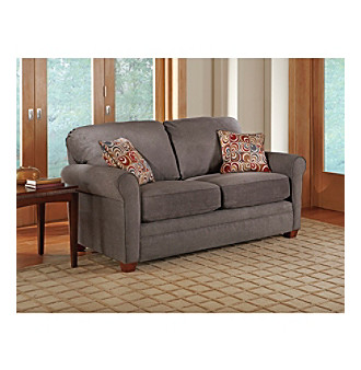 Lane Sunburst Granite Full Sleeper Sofa with iRest Gel Infused Foam Mattress